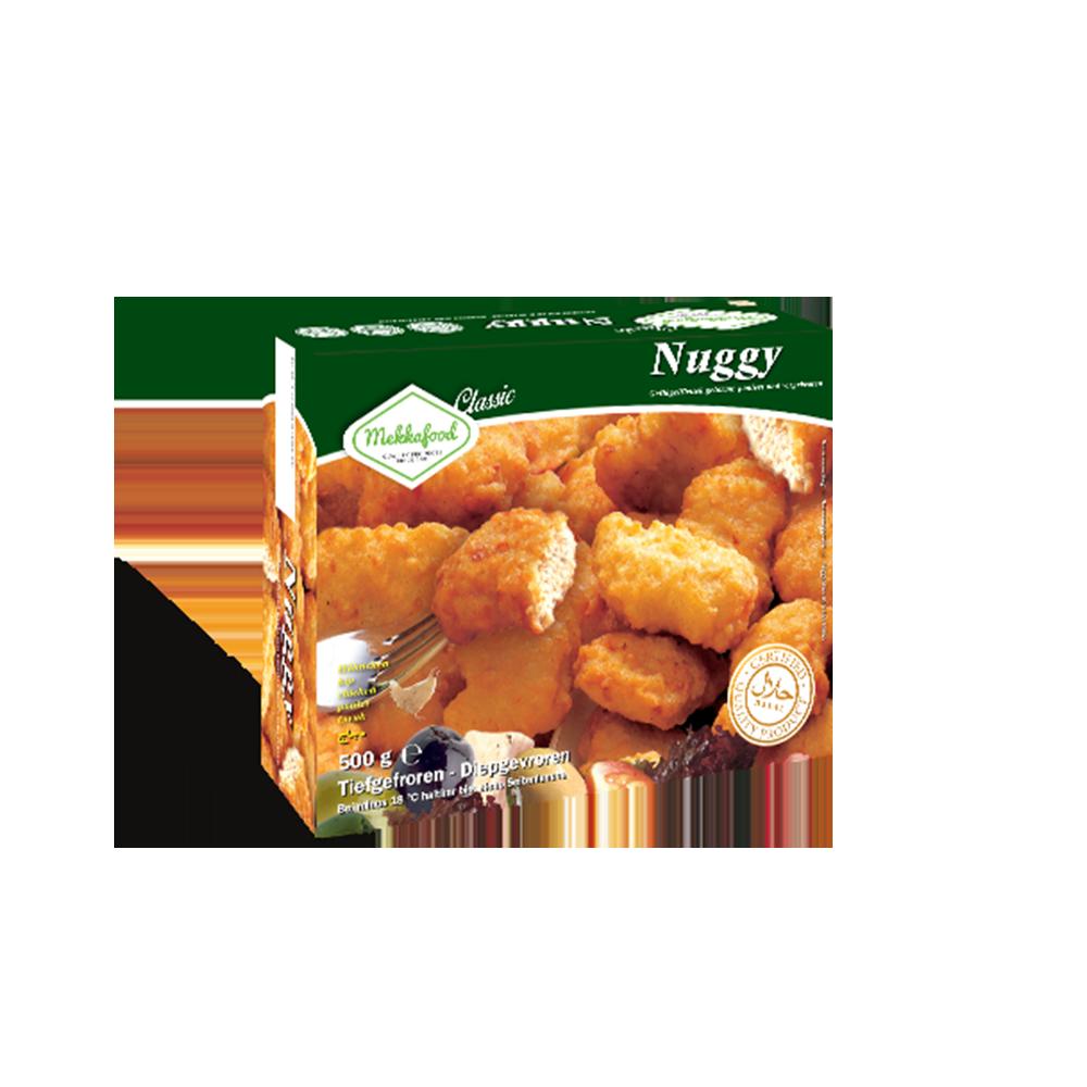 Mekkafood Nuggets 500g Les Halles Du Sud Grossiste Alimentaire Champ Chicken Nugget 500gr